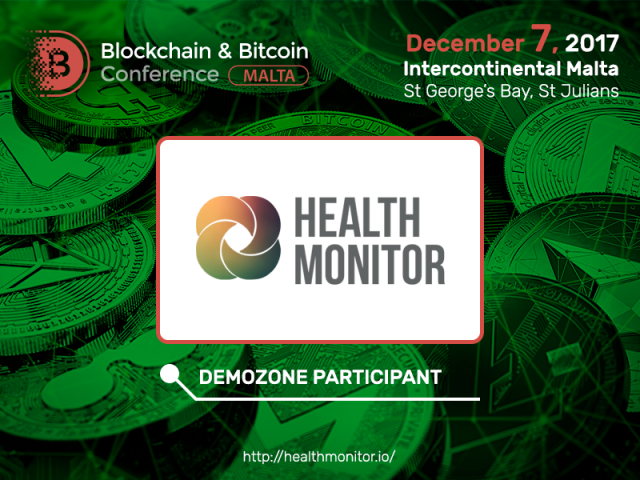 Diagnostics of lung cancer and stomach ulcer without doctor's appointment: Health Monitor to present its solutions at Blockchain & Bitcoin Conference Malta