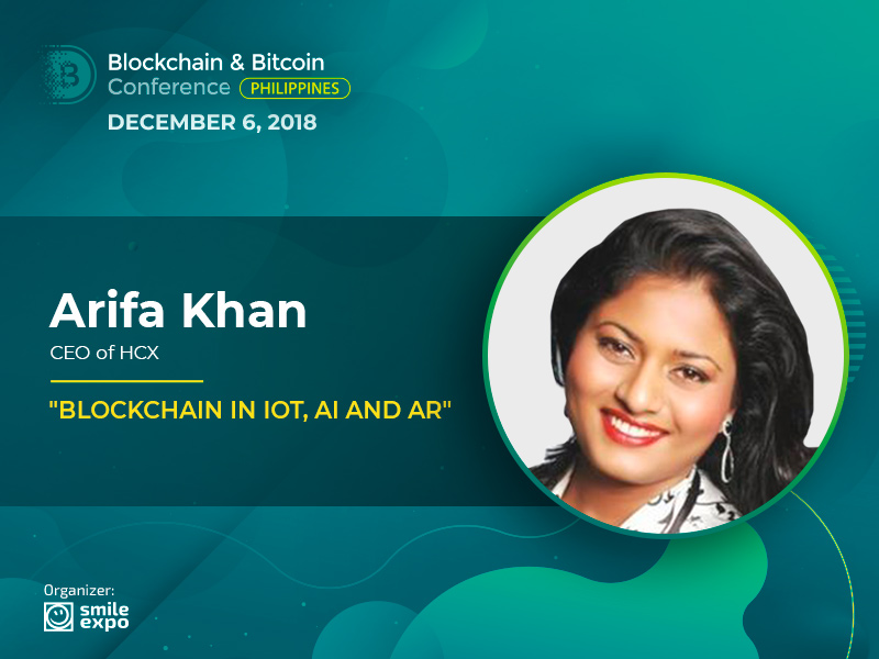 DLT in IoT, AI & AR: Presentation from the India Partner of the Ethereum Foundation Arifa Khan