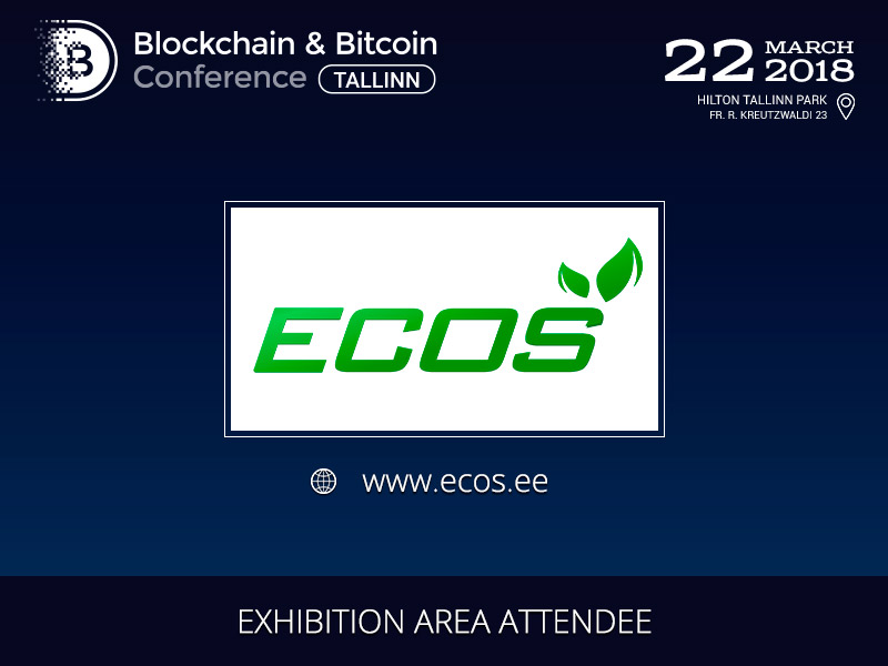ECOS Product Quality Testing Service is exhibitor of Blockchain & Bitcoin Conference Tallinn