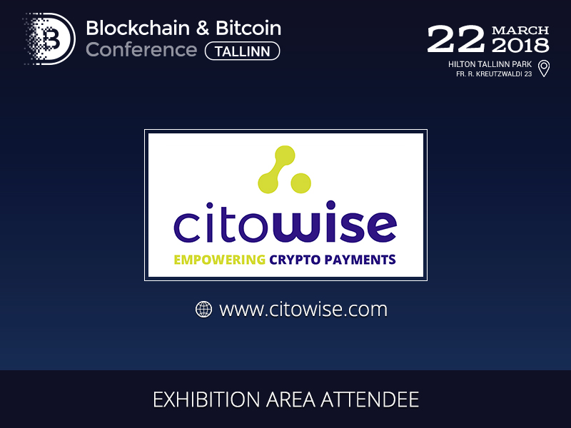 Exhibition Area Participant: Citowise, developer of blockchain solutions and tools