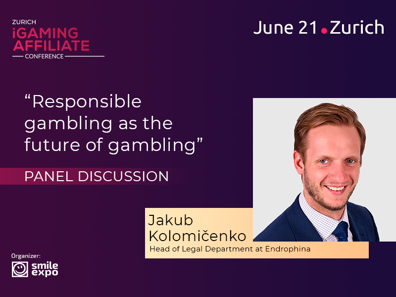Expert lawyer Jakub Kolomičenko: participant of responsible gambling discussion