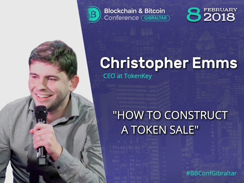 Fintech expert Christopher Emms to reveal how to create and distribute ICO tokens efficiently