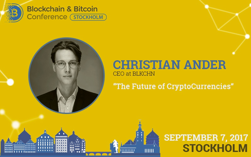 Future of cryptocurrencies: attitude of Christian Ander, Blockchain & Bitcoin Conference speaker