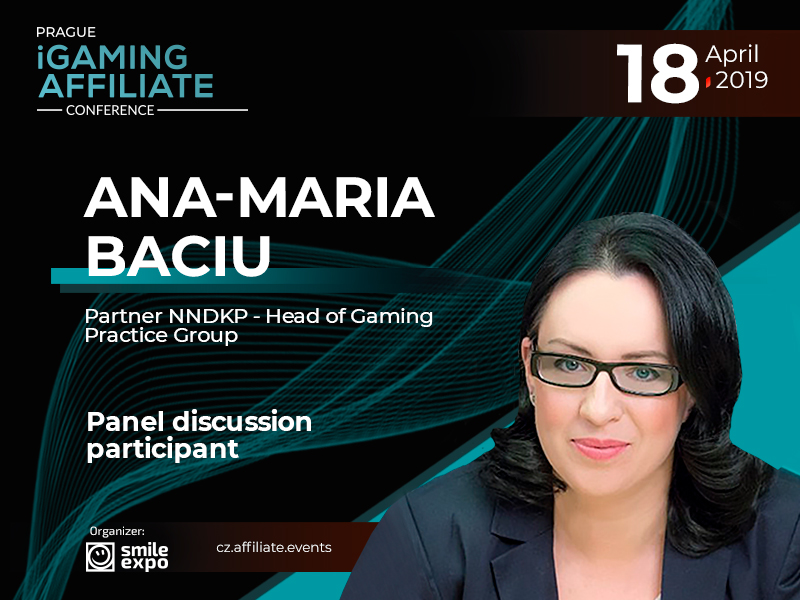 Gambling Regulation in Europe: Partner NNDKP Ana-Maria Baciu Will Take Part in the Panel Discussion