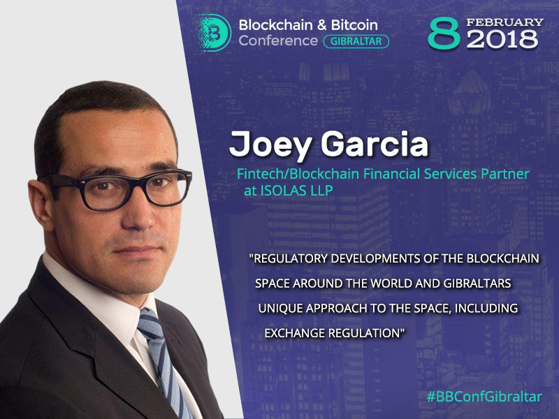 Gibraltar's approach to crypto industry regulation by Joey Garcia, Partner at ISOLAS law firm