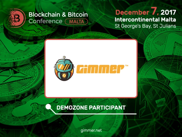Gimmer will present cryptocurrency trading mechanisms at Blockchain & Bitcoin Conference Malta