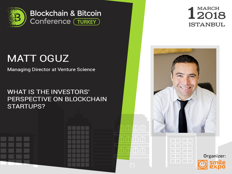 Going to make a fortune on bitcoin? Investment expert Matt Oguz will help you with a startup