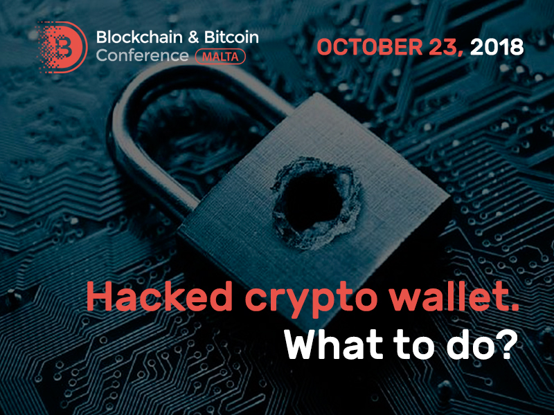 Hacked crypto wallet. What to do?