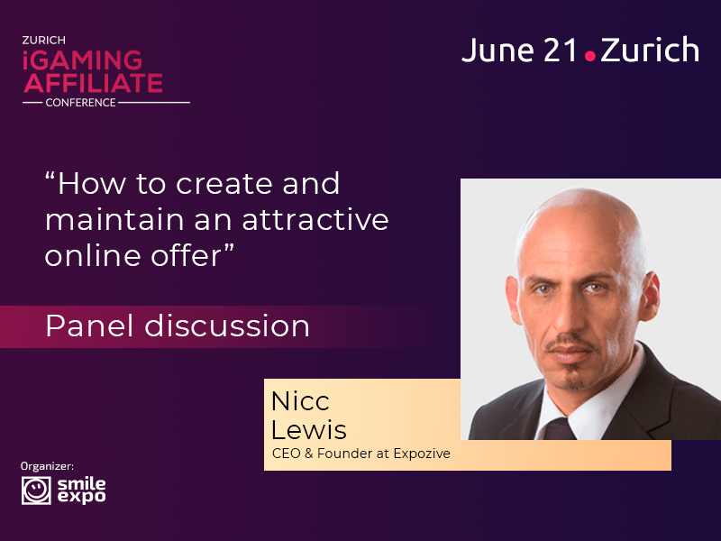 Head of Expozive Nicc Lewis to Discuss the Online Offer Peculiarities
