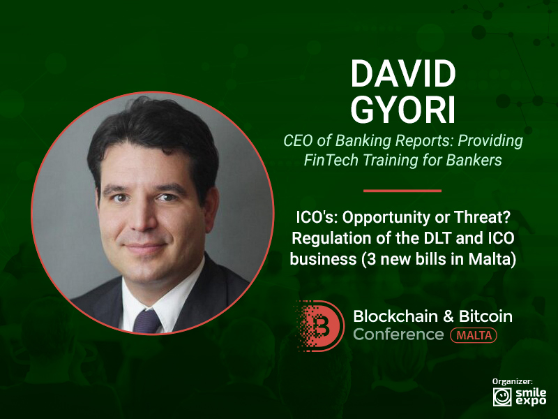 How Are ICOs Regulated in Malta? Answer from CEO of Banking Reports David Gyori