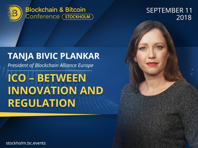 How Are Token Sales Regulated? Tanja Bivic Plankar, President of Blockchain Alliance Europe, Will Answer the Question