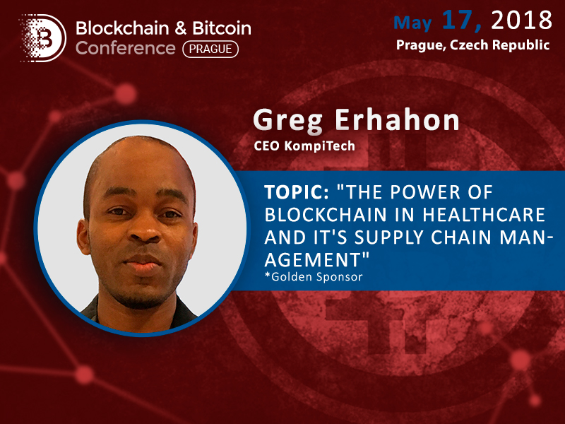 How can Blockchain Be Used in IT and Healthcare? Greg Erhahon, CEO of KompiTech, Will Give Examples