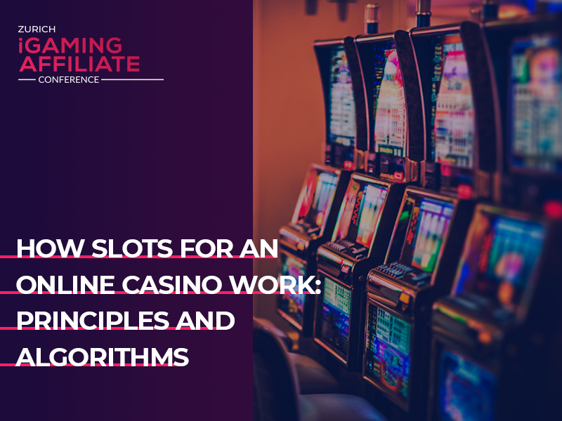 How slots for an online casino work: principles and algorithms