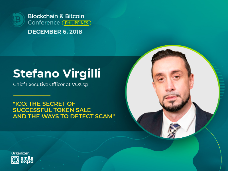 How to Launch a Successful Token Sale? Advice from VOX CEO Stefano Virgilli
