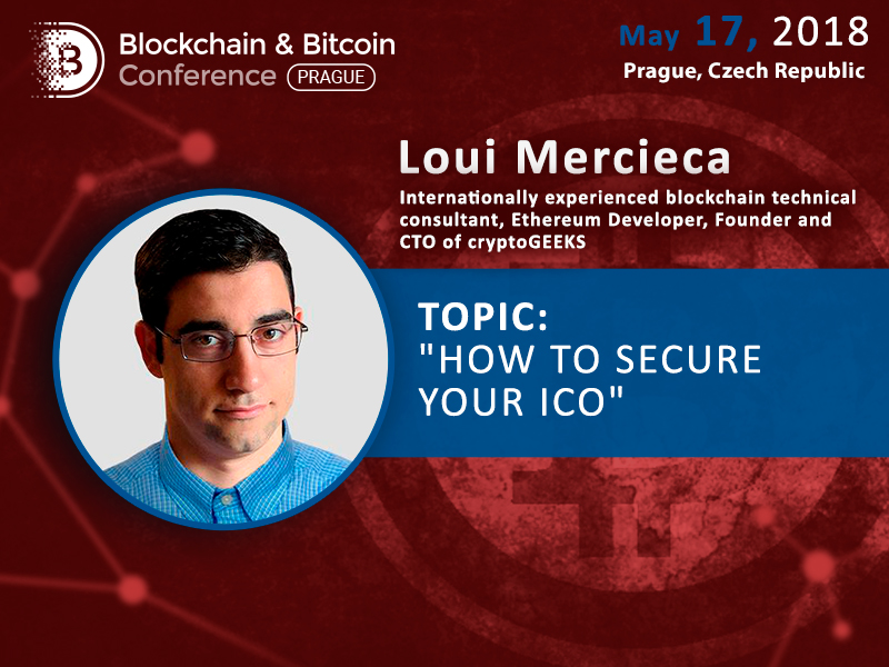How to Make Sure Your ICO is Secure? Loui Mercieca, CryptoGeeks, Will Reveal Secrets