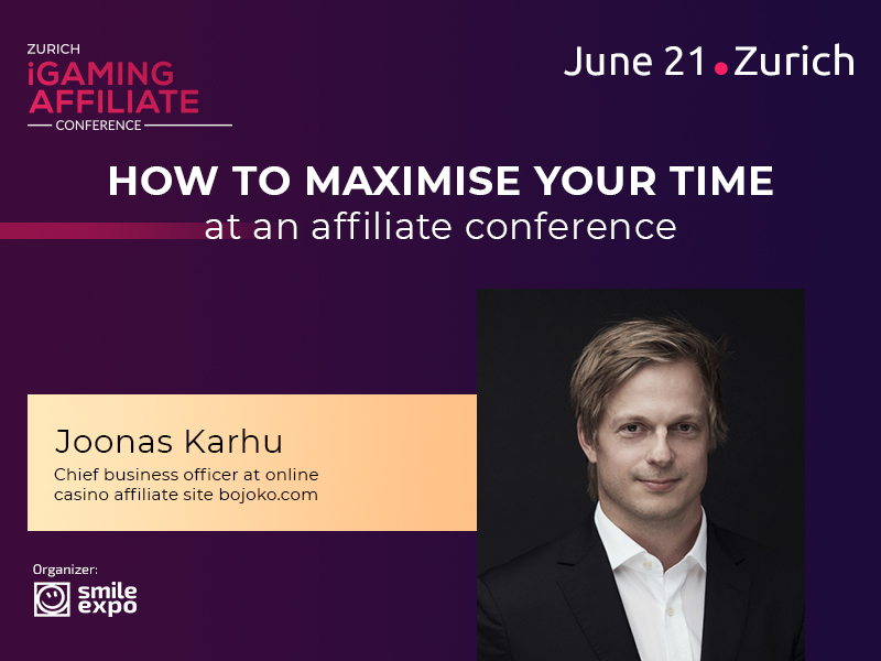 How to maximise your time at an affiliate conference