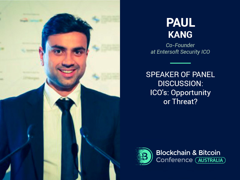 How to Treat ICO? Co-founder of Entersoft Security ICO Will Reveal an Answer at the Panel Discussion