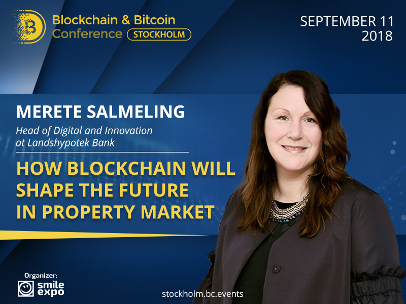 How will blockchain change the property market? Presentation of Merete Salmeling