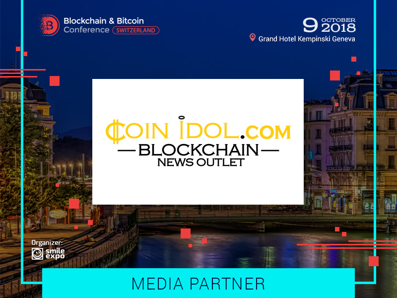 Huge News Corporation CoinIdol Will Become a Media Partner of the Blockchain & Bitcoin Conference Switzerland