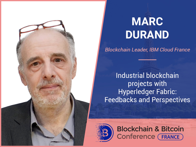 IBM representative to speak at Blockchain & Bitcoin Conference France