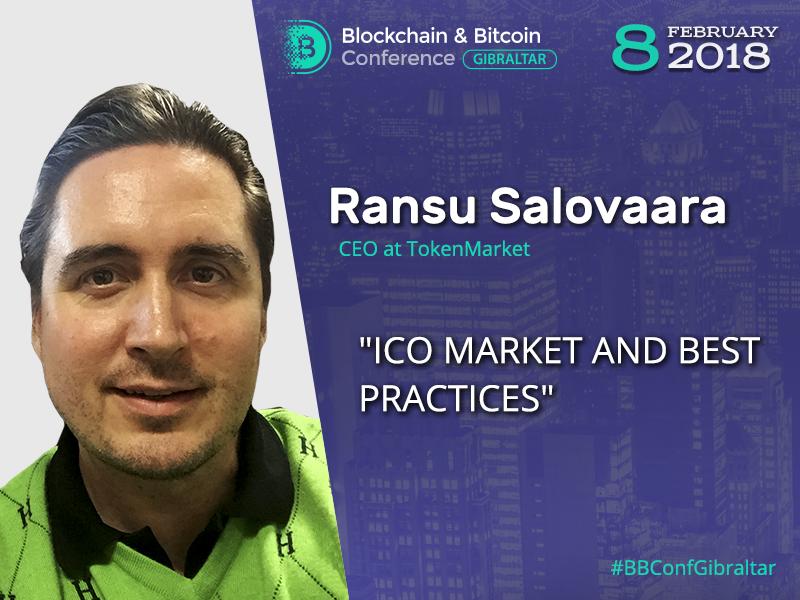 'ICO market overview' — presentation of CEO at TokenMarket exchange Ransu Salovaara