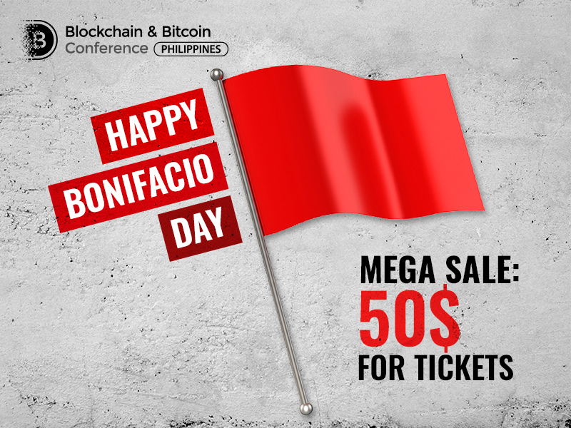 In honor of Bonifacio Day, tickets to major blockchain conference in the Philippines at half price