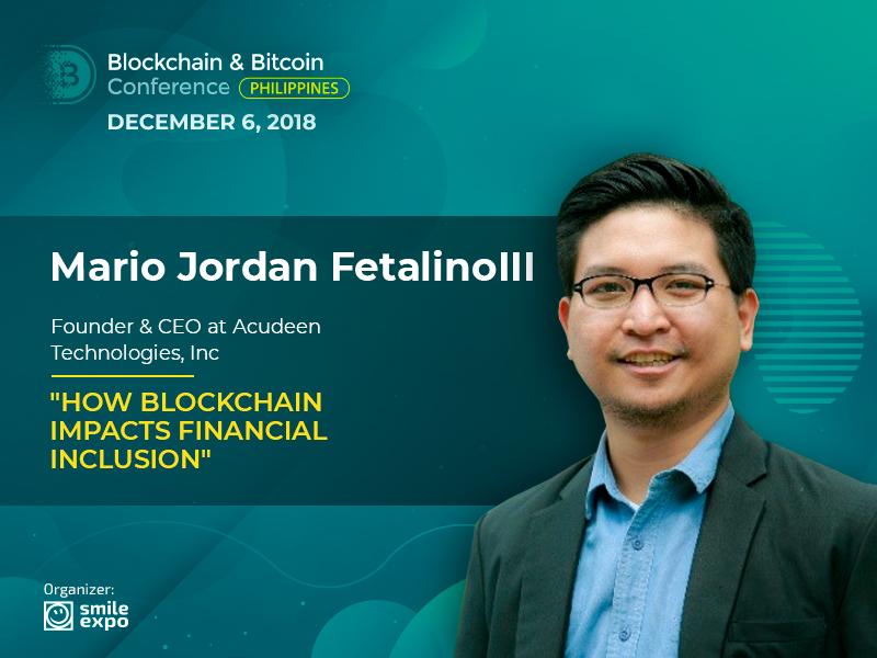 Increasing Trust Between Banks and Companies: Presentation from Mario Jordan (Magellan) Fetalino III, Founder & CEO at Acudeen