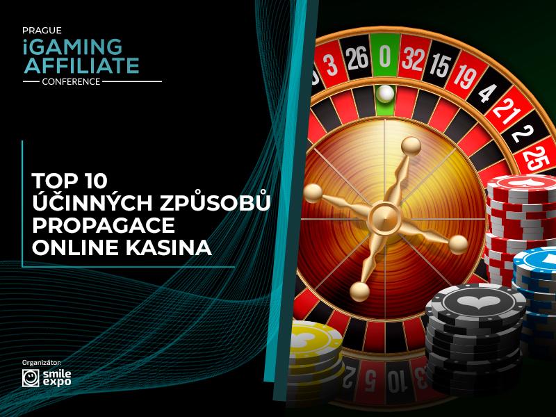 Infografika: 10 efektivních způsobů propagace online kasina