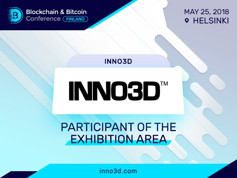 Inno3D to present its mining solutions at Blockchain & Bitcoin Conference Finland