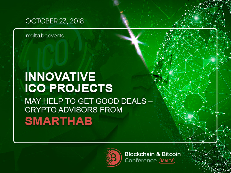 Innovative ICO Projects May Help to Get Good Deals – Crypto Advisors from SmartHab