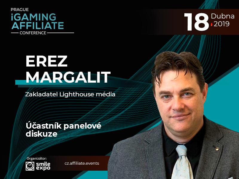 Inovační affiliate marketing v hazardním průmyslu: zakladatel Light house media Erez Margalit vystoupí v panelové diskuzi