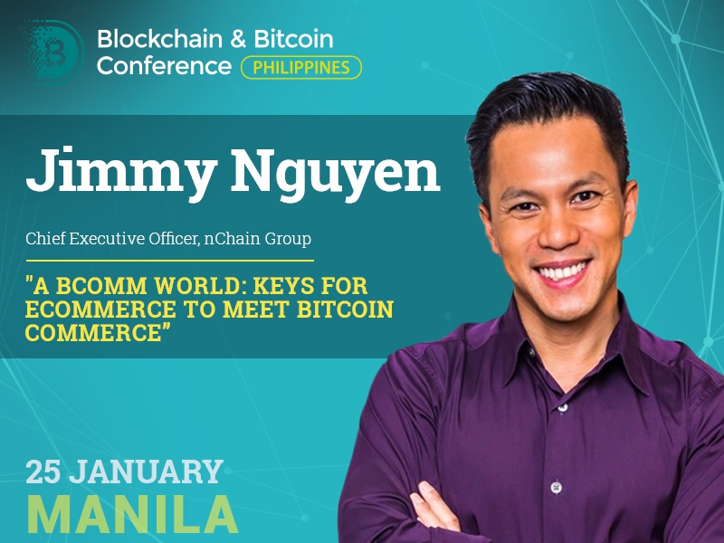 Integration of Bitcoin Commerce into eCommerce: presentation by nChain Group CEO – Jimmy Nguyen