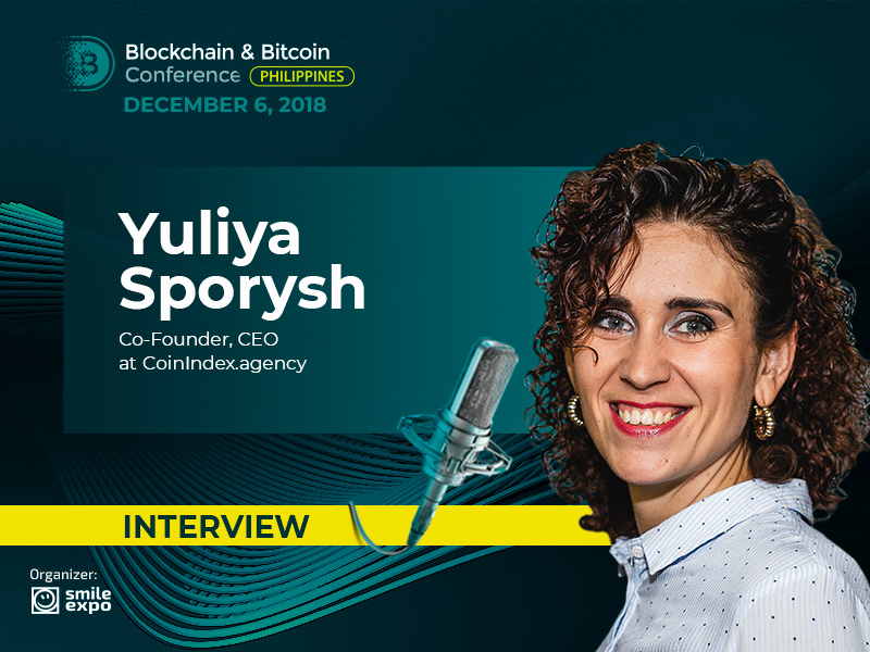 Interview with Yuliya Sporysh from CoinIndex: dynamics and weak regulation are advantages of crypto market