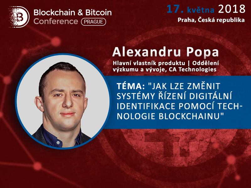 Jak blockchain může změnit systémy digitální identifikace? Vystoupení Alexe Popy na Blockchain & Bitcoin Conference Prague
