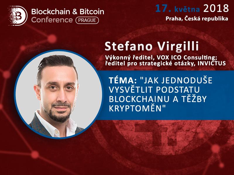 Jak funguje blockchain? Stefano Virgilli, výkonný ředitel VOX ICO Consulting, poskytne jednoduché vysvětlení