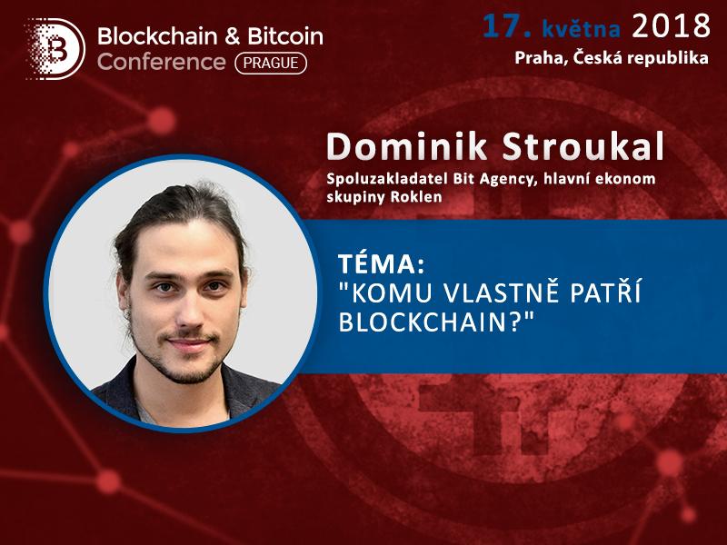 Jak porozumět blockchainu a kryptoměnám. Vystoupení hlavního ekonoma skupiny Roklen Dominika Stroukala