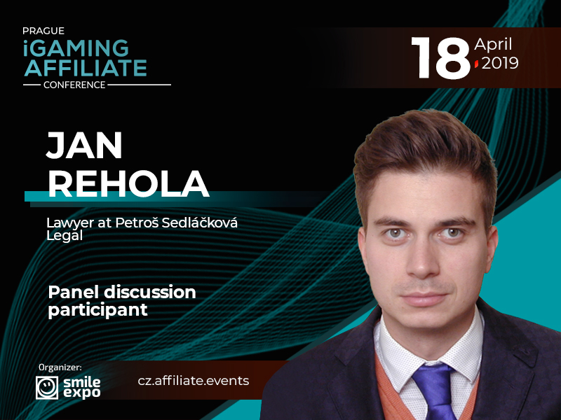 Jan Řehola, Ex-Director of Czech Gambling Department, to participate in discussion on gambling legal matters