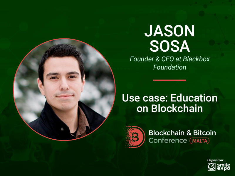 Jason Sosa, Founder & CEO at Blackbox Foundation, to tell about the blockchain implementation in aviation and marine industry