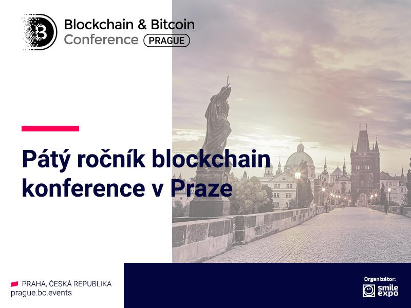 Každoroční Blockchain & Bitcoin Conference Prague se bude opět konat v Česku