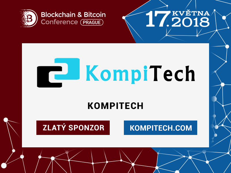 KompiTech: Gold Sponsor Blockchain & Bitcoin Conference Prague