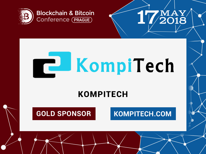 KompiTech: Gold Sponsor of Blockchain & Bitcoin Conference Prague