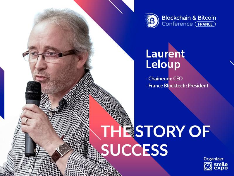 L'histoire du succès de Laurent Leloup: « Je crois vraiment que la blockchain est pour tout le monde »