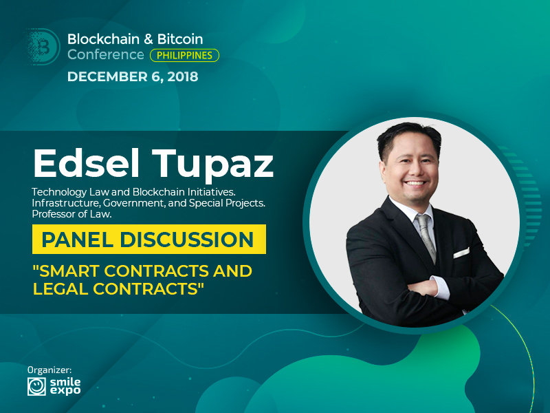 Legal Aspects of Crypto Contracts: Partner at GorricetaLaw Edsel Tupaz Will Take Part in the Panel Discussion