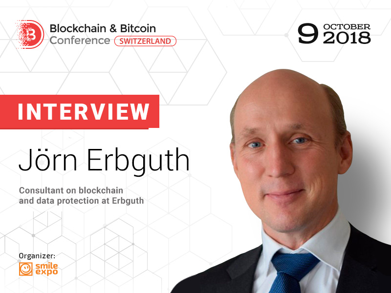 """Legal responsibility needs to be in line with technical control"" – Jörn Erbguth, blockchain and data protection consultant"