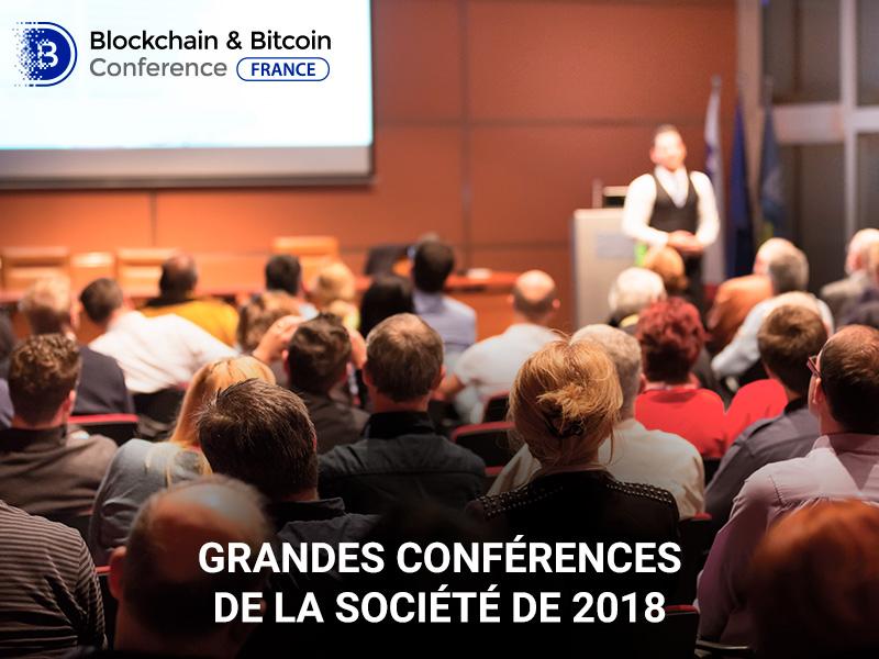 Les TOP-5 des grandes conférences de 2018 sur les technologies de blockchain