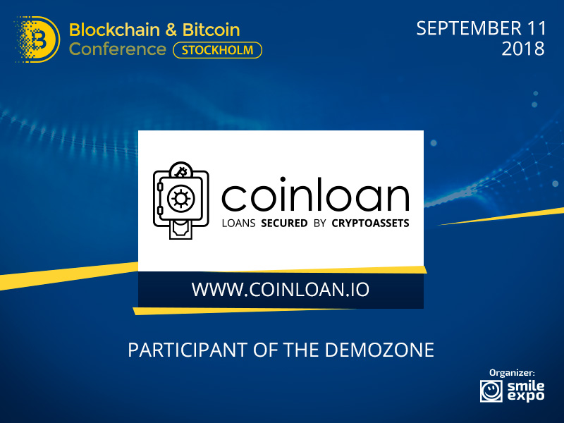 Loans Secured by Crypto Assets – CoinLoan Will Exhibit Its Innovative Solutions at the Conference