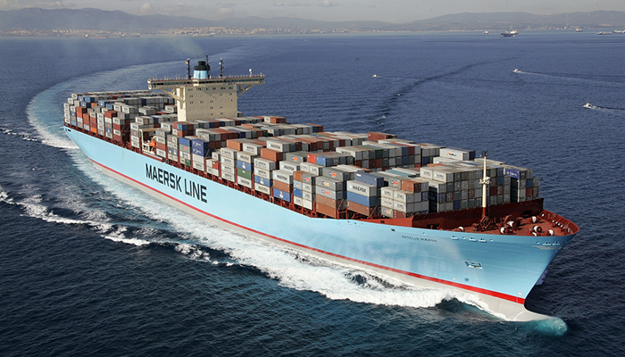 Maersk uses blockchain in container shipping