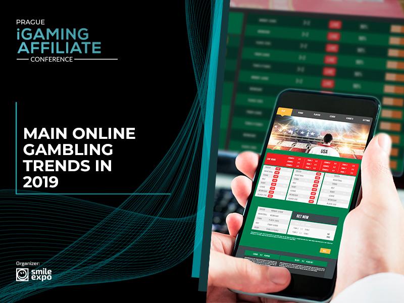 Main online gambling trends in 2019