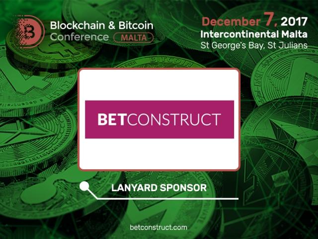 Major gambling software developer has become a sponsor of Blockchain & Bitcoin Conference Malta
