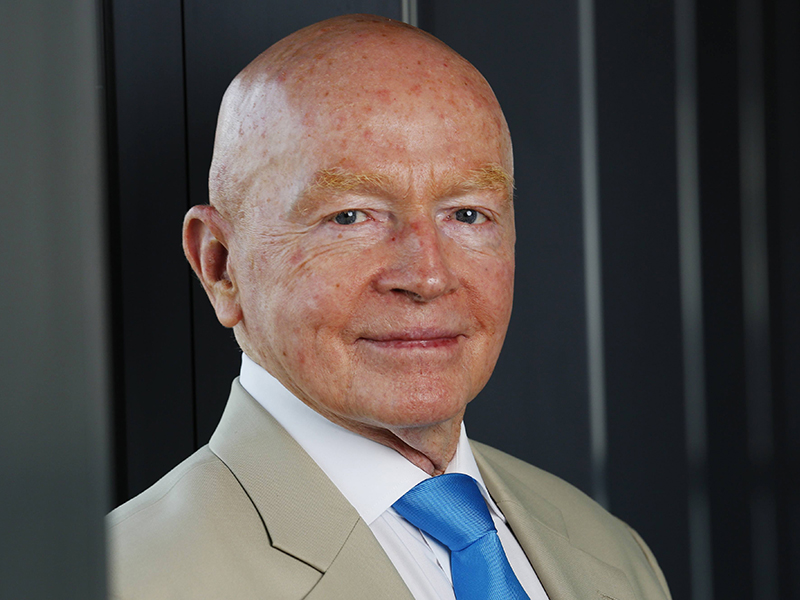 Mark Mobius: trust in digital currencies is ready to stagger